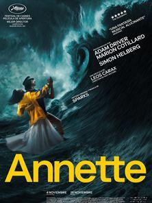 'Annette' - Tráiler oficial en inglés