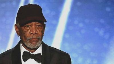SAG Awards 2018: El extraño regaño de Morgan Freeman y su gorra