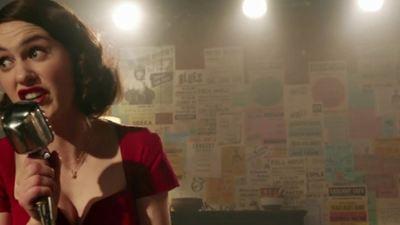 'The Marvelous Mrs. Maisel': la serie protagonista de enero