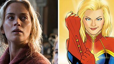 'Captain Marvel': Emily Blunt revela por qué no interpretó a la superheroína