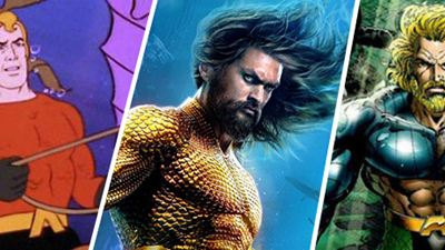 'Aquaman': 15 versiones del Rey de los siete mares