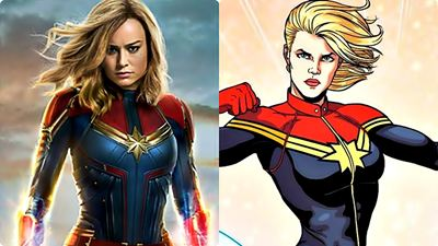 'Capitana Marvel': 5 diferencias entre la película y el cómic