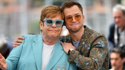 'Rocketman': Taron Egerton llora tras recibir ovación en Cannes