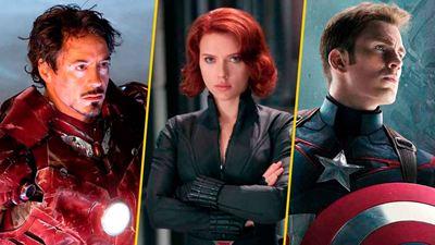 ¿Qué personaje de las películas de Marvel ha aparecido más veces?