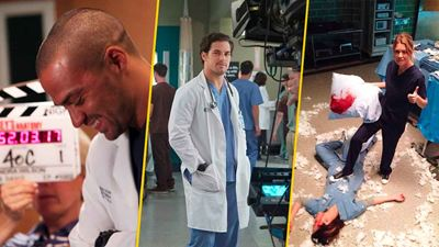 'Grey's Anatomy': 15 fotos detrás de cámaras que nunca habías visto