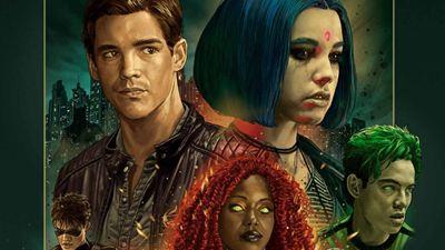 'Titans': Nueva imagen de Drew Van Acker como Aqualad.
