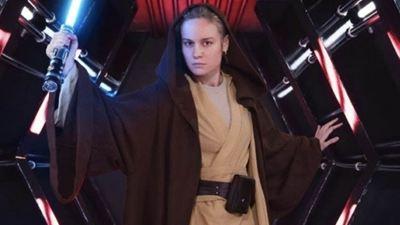 ¿Brie Larson está confirmando su participación en Star Wars?