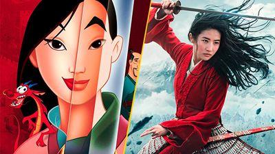 'Mulán': Las principales diferencias entre la animación y el live-action