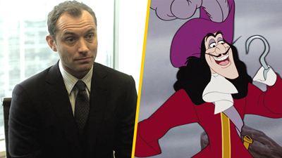Jude Law será el Capitán Garfio en el live-action de 'Peter Pan' de Disney