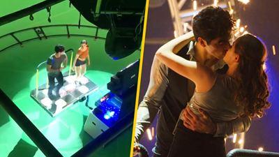 'El stand de los besos 2': El inédito video detrás de cámara de la escena del baile final (Netflix)