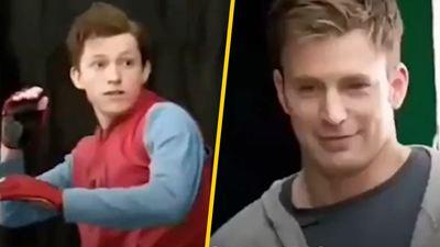 'Spider-Man': Así fue la primera audición de Tom Holland con Chris Evans