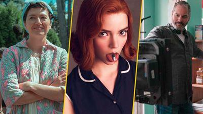 'Gambito de dama': 10 imágenes detrás de cámaras sólo para fans de la serie de Netflix