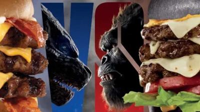 'Godzilla vs Kong': Veredicto y precio de la hamburguesa de Carls Jr. (y sus vasos coleccionables)