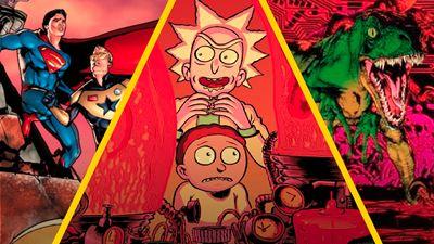 'Rick y Morty' y 5 series y películas que se expandieron a cómics o anime