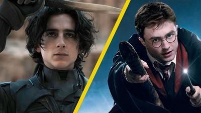 Biennale 2021: Timothée Chalamet compara a 'Dune' con el fenómeno Harry Potter