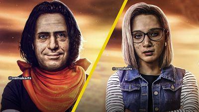 Los personajes de ' El Chavo del 8' reimaginados en los androides de 'Dragon Ball Z'