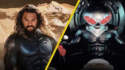 'Aquaman and the Lost Kingdom': Detrás de cámaras con Jason Momoa revela primer vistazo a Black Manta