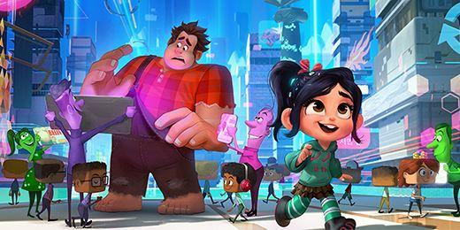 'Ralph el demoledor 2': ¿Qué hacen las princesas de Disney en las nuevas imágenes?