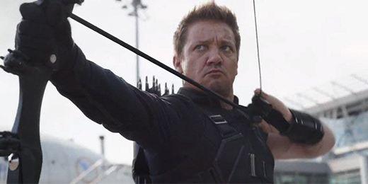 'Avengers 4': Foto revela a Hawkeye golpeado y con nuevo look