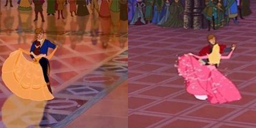 10 ocasiones en que Disney recicló escenas