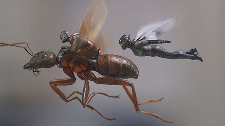 Superhéroes y villanos basados en insectos