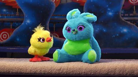 'Toy Story 4': Conoce a Ducky y Bunny en el segundo avance