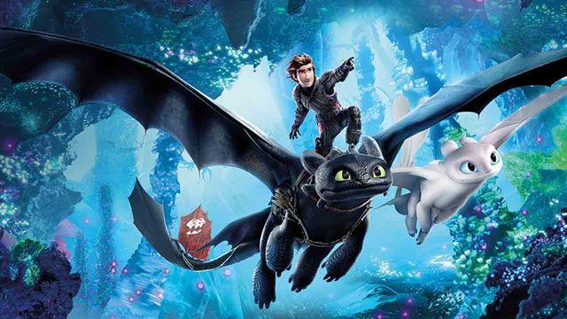 'Cómo entrenar a tu dragón 3' arrasa en su estreno