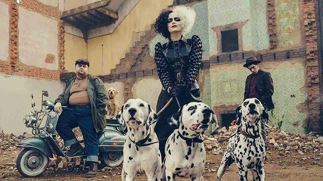 'Cruella': Nuevas imágenes de Emma Stone desde el set
