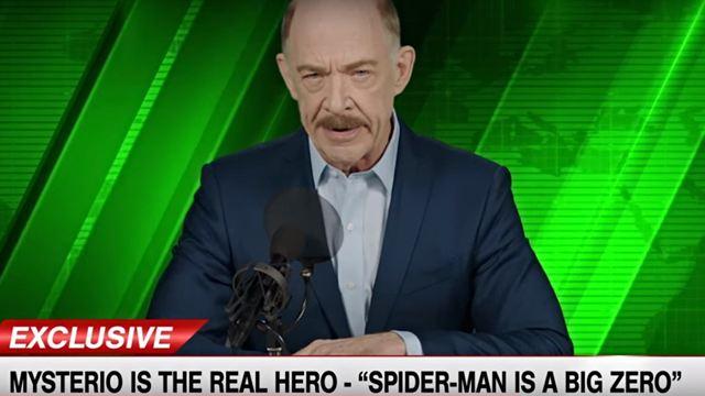 'Spider-Man': Lanzan nuevo video de J. Jonah Jameson