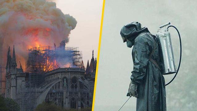 Habrá serie del incendio de Notre Dame inspirada en 'Chernobyl'