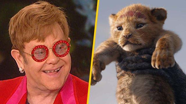 """'El rey león': Elton John dice que la nueva versión """"es una gran decepción"""""""