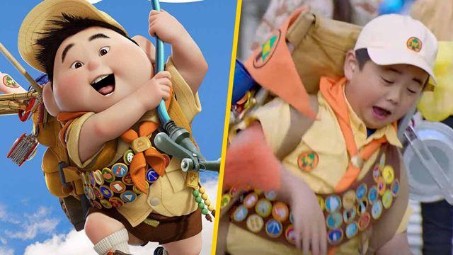 'Pixar IRL': Primer vistazo al live-action de los personajes de Pixar