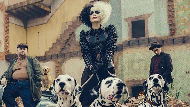 'Cruella': Filtran nuevas fotos de Emma Stone como la villana