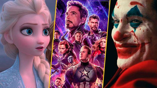 'Avengers: Endgame' y las 10 películas más taquilleras del mundo en 2019