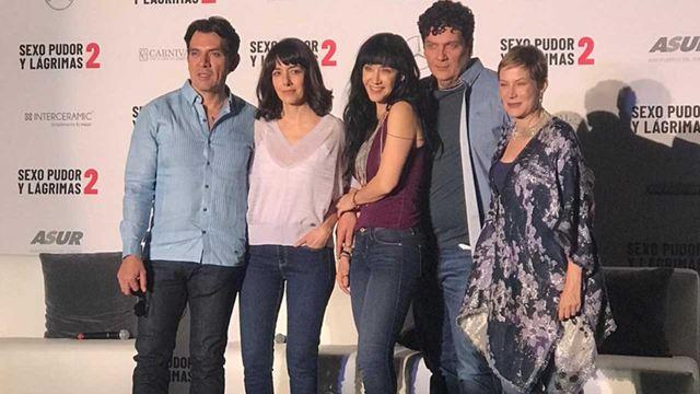 'Sexo, pudor y lágrimas 2': El rodaje comenzó con la reunión del elenco original y el nuevo