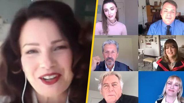 'La niñera': Así fue la esperada reunión del elenco original dos décadas después