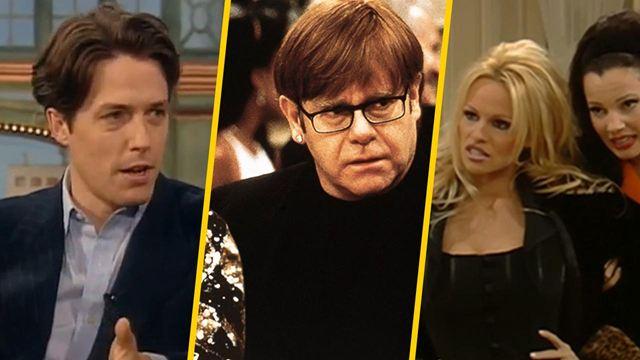 'La niñera': Elton John y otros 10 cameos de famosos que ya no recordabas