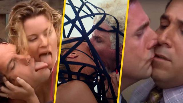 10 de los besos más asquerosos en películas y series