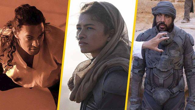 'Dune': Nuevas imágenes con Jason Momoa, Zendaya, Javier Bardem y más