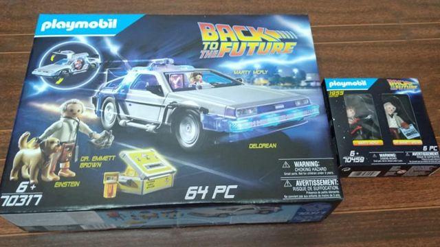 ¡Participa y gana el set del DeLorean de Playmobil de 'Volver al futuro'!