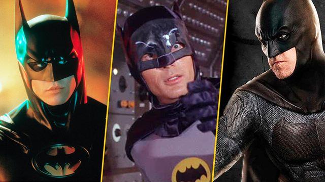 Batman: Las razones por las que cada actor renunció a ser Bruce Wayne después de un tiempo