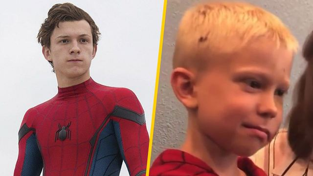 Tom Holland invita al rodaje de 'Spider-Man 3' a Bridger Walker, el niño que salvó a su hermana