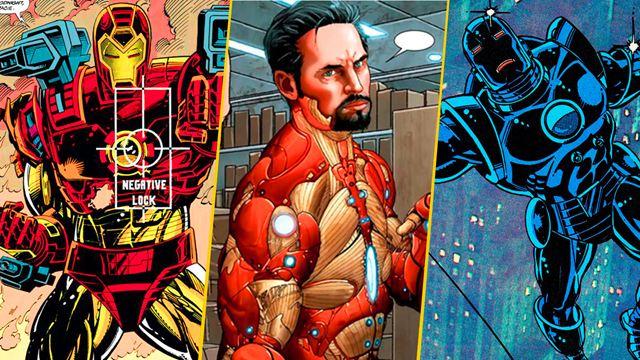 Iron Man: 10 de los trajes más extraños de Tony Stark