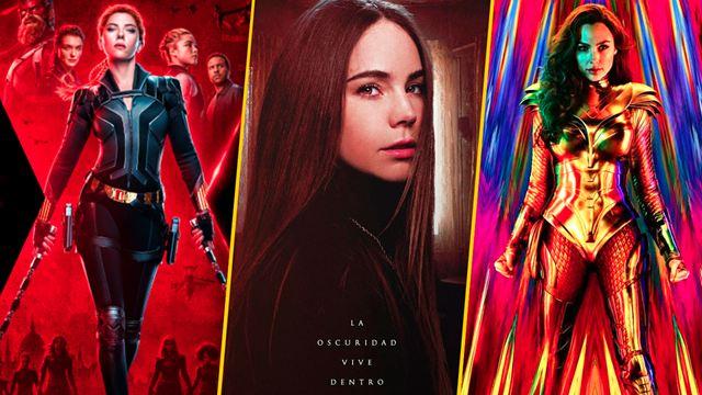 #VolvamosAlCine: Confirman estreno en cines de México de 'Black Widow', 'Mujer Maravilla 1984' y más antes de terminar 2020