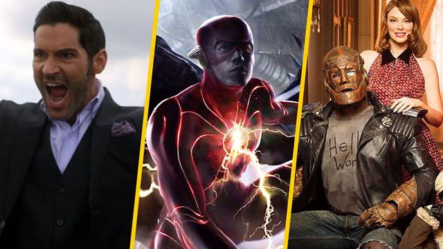 DC FanDome: Los anuncios importantes sobre 'Lucifer', 'Doom Patrol', 'The Flash' y más en la segunda parte del evento