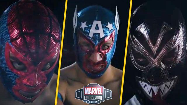 Aracno, Venenoide, Leyenda Americana; los luchadores de la AAA inspirados en Marvel