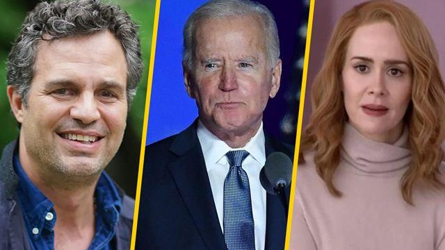 Joe Biden es el nuevo Presidente de Estados Unidos y los famosos reaccionan