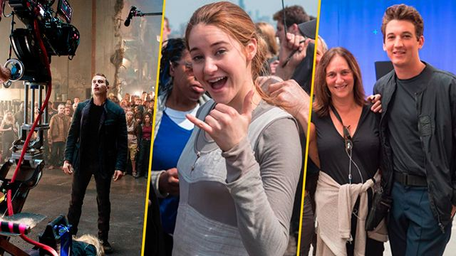 'Divergente': 20 imágenes detrás de cámaras sólo para verdaderos fans de la trilogía