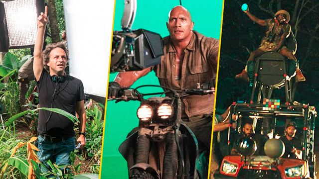'Jumanji: En la selva': 20 imágenes detrás de cámaras que nadie debe perderse