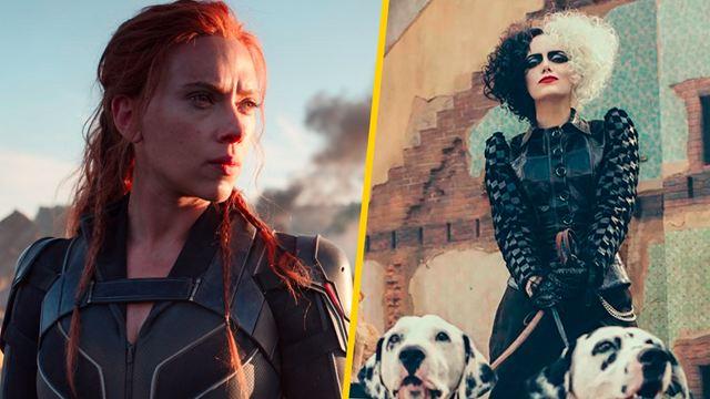 ¿Cuál es el precio final de 'Black Widow' y 'Cruella' en Disney +?